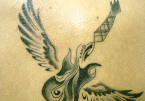 Татуировки с гитарой