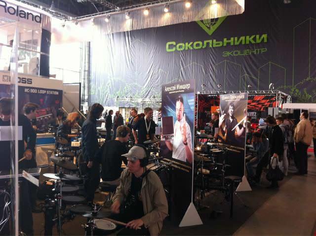 Отчет с Музыка Москва 2011