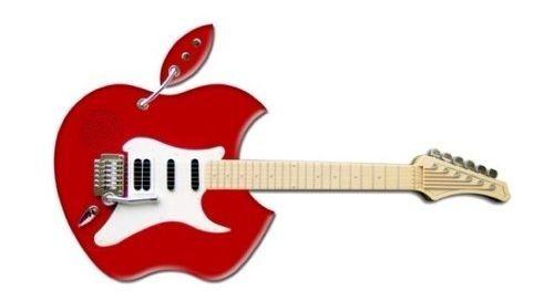 Если бы Apple производил электрогитары