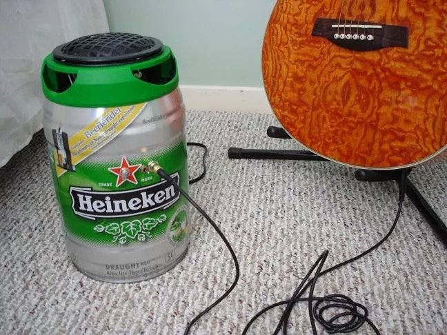 Баночный усилитель «Heineken»