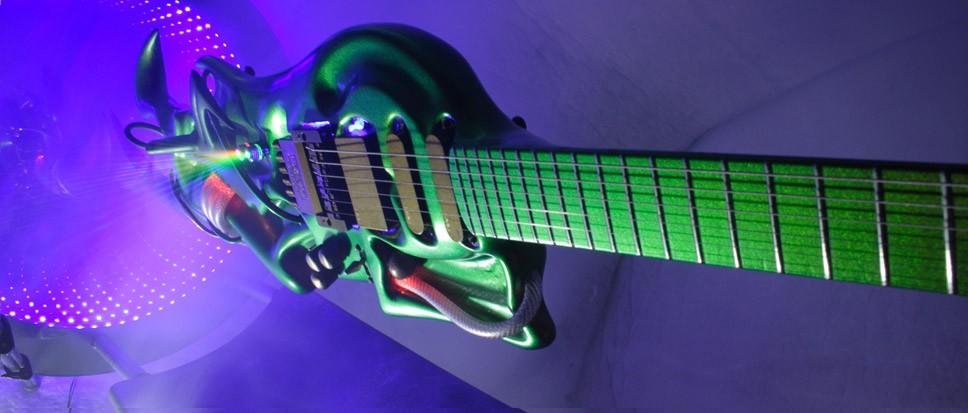 Ultrazone Guitar, гитара Стиви Вая