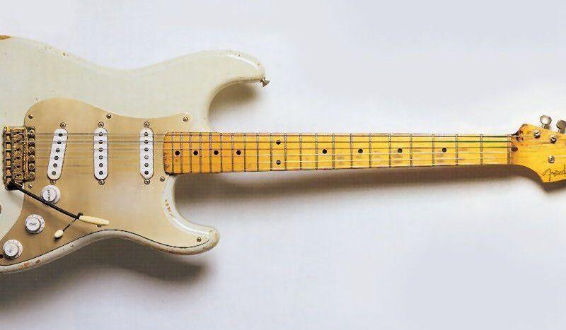 Fender Stratocaster 0001 Дэвида Гилмора