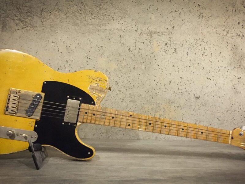 Гитара Micawber Fender Telecaster Кита Ричардса