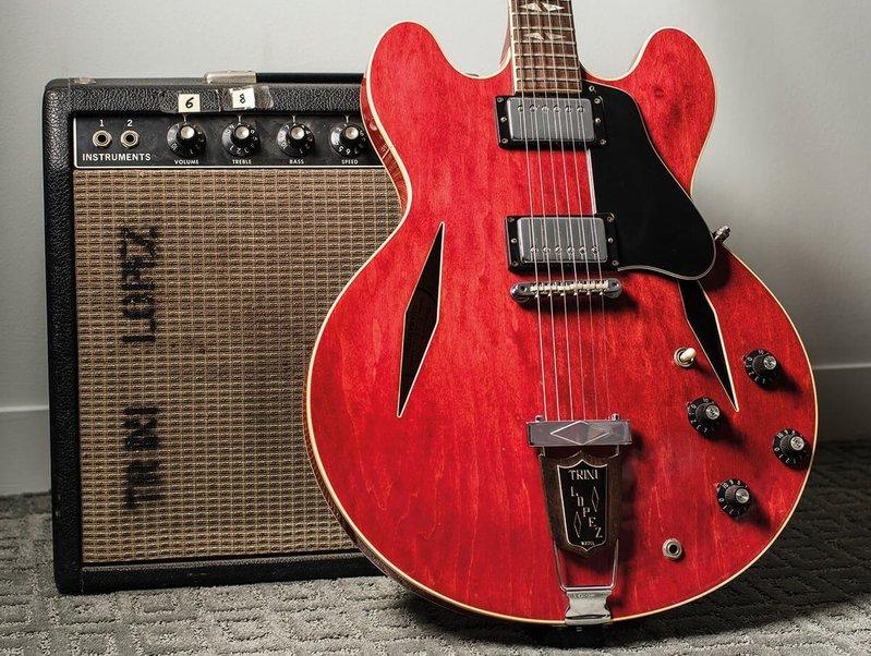 Гитара Gibson Trini Lopez